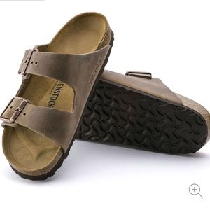 Birkenstock Arizona BS Oiled Leather Sandals